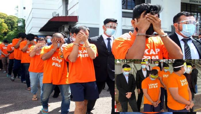 46 ahli tvmpas, Angota dan Pegawai Imigresen antara Ditahän, Terima RM100-500