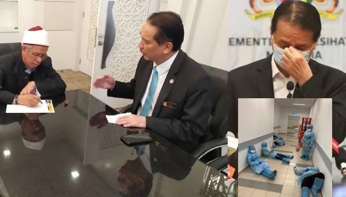 Menteri Agama pula respon mengenai KP Kesihatan Dr Noor Hisham Dihïnã
